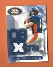 2002 FLEER BOX SCORE QB XTRA BRIAN GRIESE GAME-USED JERSEY #6 DENVER BRONCOS