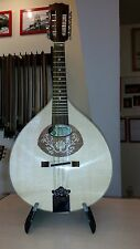 Portuguese mandolin with EQ, Hora, Romania, solid wood small portuguese guitar