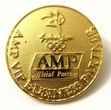 Pin Spilla Olimpiadi Sydney 2000 - AMP Official Partner - VIP Business Partner