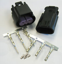 3 Way Black GT 150 Sealed Male & Female Connector w Pins 15326808 & 15326813