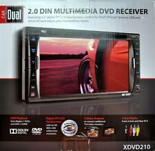 Car Dual 2.0 DIN Multimedia DVD Receiver (XDVD210)