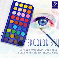 Memory Professional Artist Grade Watercolor Paint Cakes 36 Colors Oil Painting
