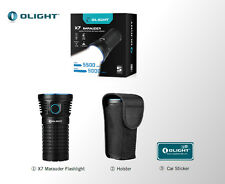 Olight X7 Marauder 9000 Lm 313meter 6 Modes 3 x Cree XHP70 LED  Flashlight
