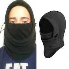 Thermal Fleece Hood Police Swat Ski Bike Wind Stopper Face Head Warmer Mask Hot