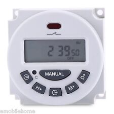 L701 LCD Digital Programmable Control Power Timer Switch Time Relay 12V