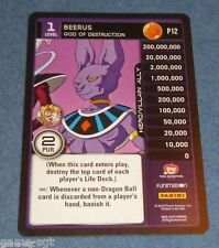 Dragon Ball Z Beerus SDCC 2016 Exclusive Promo Card CCG Comic-Con