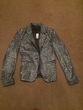 Joseph jazz Leather Diamond Jacket Size S Bnwt