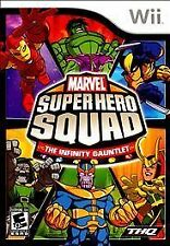 Nintendo Wii Marvel Super Hero Squad The Infinity Gauntlet VideoGames