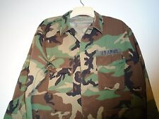 GENUINE USGI US ARMY MILITARY SURPLUS BDU COAT LARGE SHORT AIRBORNE1996 F-19