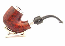 Peterson House Pipe Bent Terracotta P-Lip Silver Cap with FREE Pipe Tool
