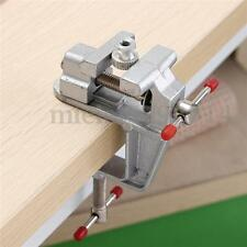 "3.5"" ALUMINUM JEWELERS HOBBY CLAMP ON TABLE BENCH VISE MINI DIY CRAFT TOOL VICE"