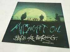 "Midnight Oil - Beds Are Burning (Kintoris Mix) 12"" Single CBS OIL T3 1989 EX/EX+"