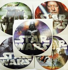 15 Star Wars Classic  Stickers Party Favors Teacher Supply  Yoda Darth Vadar