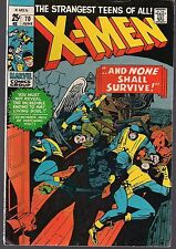 X-MEN UNCANNY #70 MARVEL 1971 DOUBLE SIZE REPRINT #17 & 18 MAGNETO TALE 52pg VF