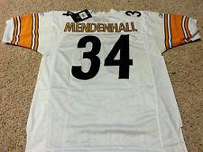 Pittsburgh Steelers Rashard Mendenhall Mens Jersey Away White Size 50 Large New