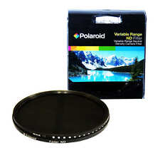 Polaroid Optics 77mm Variable Range Neutral Density ND Fader Lens Filter
