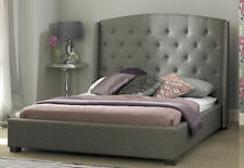 Fabricated Signature 4ft6 Double Bed in Grey is a New Grand Design Stylish Bed