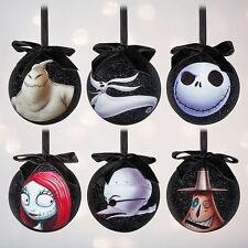 NEW Disney Tim Burton's The Nightmare Before Christmas Sketchbook Ornament Set