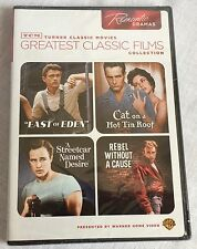 TCM Turner Classic Movies Romantic Dramas Rebel Cat on a Hot Tin Roof More NEW