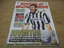 Football Magazine World Soccer June 1997 Roy Hodgson Palmeiras Juventus Juninho