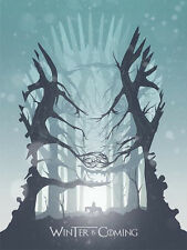 Game of Thrones poster print the boy who cried dire wolf Andy Hau