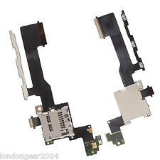 Genuine HTC One M9 Micro SD Memory Card Reader Volume Power Button Flex Cable