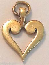 ❤️RETIRED RARE JAMES AVERY ~ 14k GOLD ~ HEART CHARM PENDANT ~ w/ JA BOX❤️