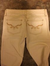 Juicy Couture Jeans White Denim  Size 25 straight legs