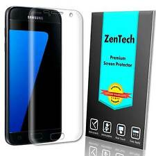 3X ZenTech Clear [FULL COVER] Screen Protector Guard Film For Samsung Galaxy S7
