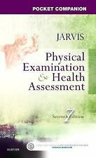 NEW - Free Ship - Pocket Companion for Physical Examination by Jarvis (7 Ed)
