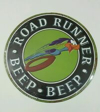 Road Runner Beep Beep Metal Sign Embossed Man Cave Sign Tin
