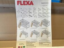 FLEXA 5 STEP NATURAL SLANTED LADDER FOR BUNK BEDS  FLEXA #79443113  NIB!