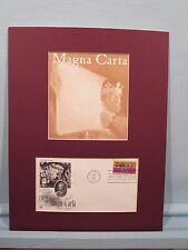 The Birth of Liberty -  the Magna Carta & First Day Cover for 750th Anniversary