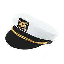 Captains Sailors Hat Cap Novelty Fancy Dress Costume Prop  Sailor Captain