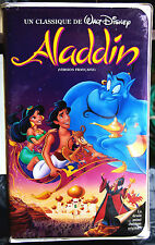Aladdin/FRENCH-FRANÇAIS/Black Diamond/RARE VHS MOVIE CLASSIC/Video Walt Disney