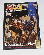 AWOL BIKERS MAGAZINE VOLUME 4 NO.3 - JAPANESE FOUR PLAY