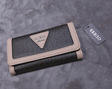 GUESS Women's Trifold Wallet Polished SLG NWT NEW