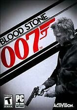 Blood Stone 007 (PC, 2010) With Catalog!
