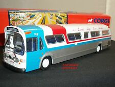 CORGI 54401 GM5301 FISHBOWL LIONEL CITY SERVICE AMERICAN DIECAST MODEL COACH BUS