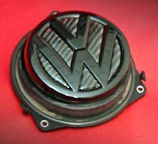 VW Golf 7 Heckklappenöffner schwarz Hochglanz 3D ECHT Carbon