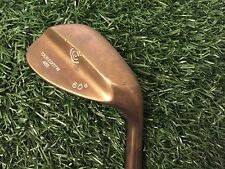 RARE Cleveland Golf TOUR EDITION 485 BeCu 60* Wedge Right Square Groove COPPER