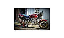1979 Honda Cbx10000 Bike Motorcycle A4 Photo Poster