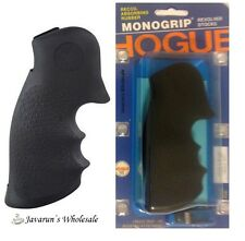 Hogue Grips 10000 Black Square Butt Rubber Monogrip for S&W K or L Frame NEW#10K