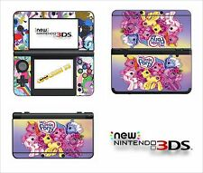 SKIN STICKER AUTOCOLLANT - NINTENDO NEW 3DS - REF 175 MY LITTLE PONY