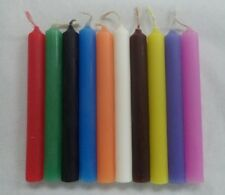 "MINI 4"" CANDLE MAGICK SET #2 10 CANDLES (Spell Altar Chime Wicca Pagan Ritual)"