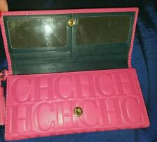 DISCOUNT Carolina Herrera PINK  wallet, AUTHENTIC,  New,  whith tags & dust bag