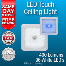 Caravan Ceiling Light LED Lamp Boat / Caravan 96 LEDs Blue White Touch Control