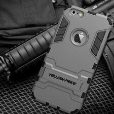 iPhone 6S+ Plus/ 6+ Plus Case, YELLOW-PRICE Armor Cover Slim Stand Case Tough