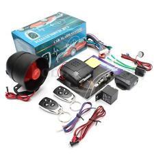 Universal Car Vehicle Burglar Alarm Protection Security System Keyless 2 Remote