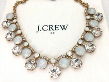 J Crew Crystal Drop Necklace NWT New statement Authen Bride bridesmaid wedding